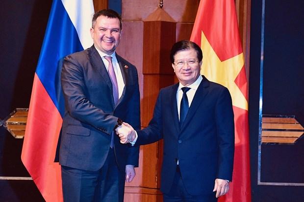 Le Comite intergouvernemental Vietnam-Russie tient sa 22e session a Hanoi hinh anh 1