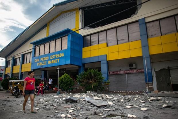 Un ecolier tue dans un seisme dans le Sud des Philippines hinh anh 1