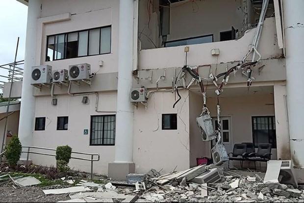Seisme aux Philippines: le bilan passe a au moins six morts hinh anh 1