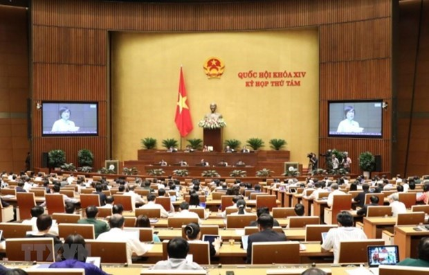 L'Assemblee nationale poursuit ses discussions sur les questions socio-economiques hinh anh 1