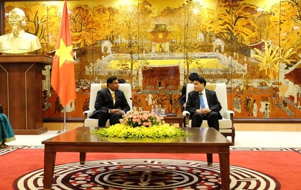 Hanoi est pret a promouvoir la cooperation et les echanges culturels avec le Sri Lanka hinh anh 1