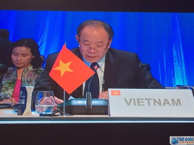 Le Vietnam a la 36e session de la Conference ministerielle de la Francophonie hinh anh 1