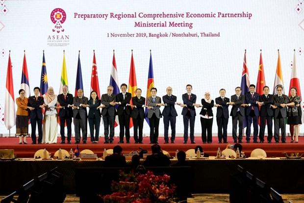 Le Vietnam soutient l'achevement des negociations sur le RCEP hinh anh 1