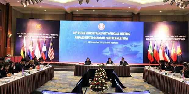 Ouverture de la 48e reunion des hauts officiels des Transports de l'ASEAN a Hanoi hinh anh 1