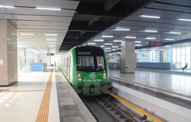 Hanoi : de 15% a 20% d'utilisateurs de vehicules personnels utiliseront la ligne ferroviaire 2A hinh anh 1