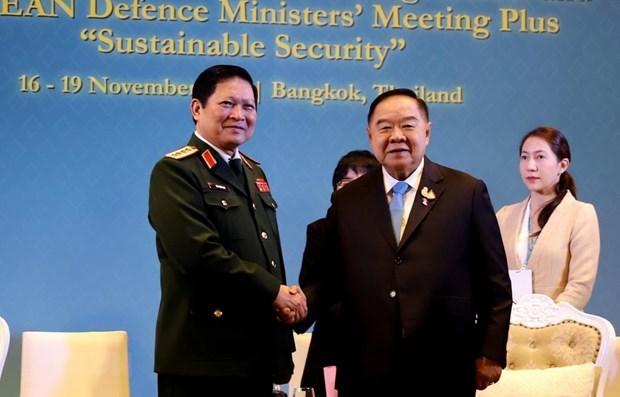 Defense : activites du ministre de la Defense Ngo Xuan Lich en Thailande hinh anh 2