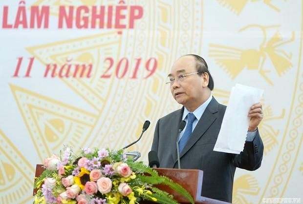 Le PM demande d'achever la restructuration des entreprises agro-sylvicoles en 2020 hinh anh 1