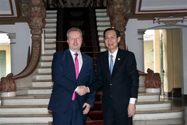Ho Chi Minh-Ville et la Republique tcheque renforcent la cooperation dans l'environnement hinh anh 1