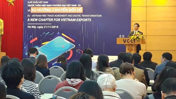 Exportations vietnamiennes et tendances de transformation numerique hinh anh 1