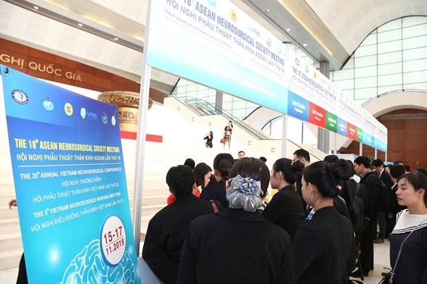 Le Vietnam accueille la 18e reunion de la Societe neurochirurgicale de l'ASEAN hinh anh 13