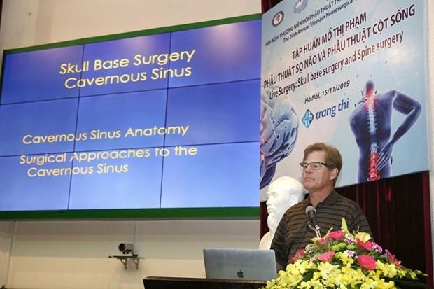 Le Vietnam accueille la 18e reunion de la Societe neurochirurgicale de l'ASEAN hinh anh 3