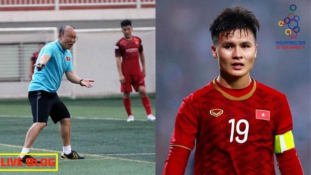 Football masculin : Quang Hai parmi six joueurs a surveiller aux SEA Games 30 hinh anh 1