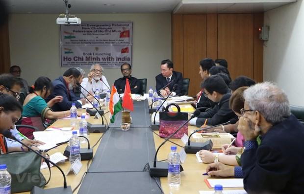 Seminaire sur les relations Vietnam-Inde et des empreintes du President Ho Chi Minh hinh anh 1