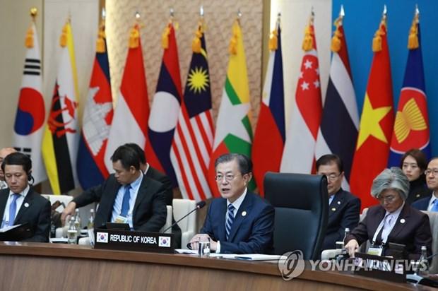 La Republique de Coree et l'ASEAN cherchent a promouvoir le libre-echange et la paix regionale hinh anh 1