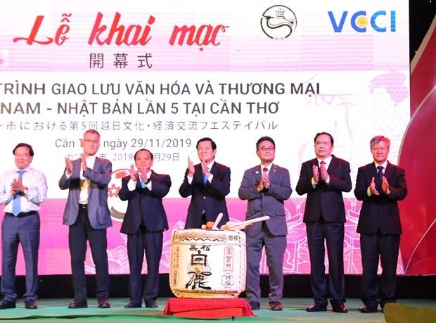 Le 5e programme d'echange culturel et commercial Vietnam-Japon a Can Tho hinh anh 1