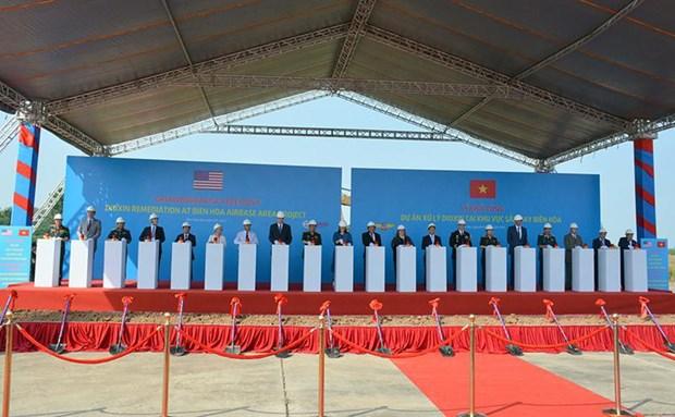 Lancement d'un projet de decontamination de dioxine de l'aeroport de Bien Hoa hinh anh 1
