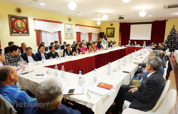 Des Vietnamiens en Republique tcheque celebrent le 70e anniversaire des relations bilaterales hinh anh 1