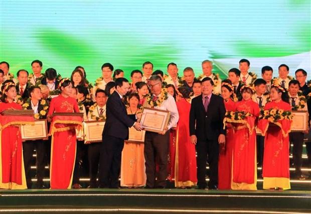 Ouverture du 4e Festival du riz du Vietnam a Vinh Long hinh anh 1