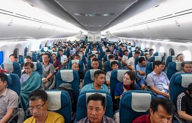 Les compagnies aeriennes du Vietnam ont transporte pres de 55 millions de passagers cette annee hinh anh 1