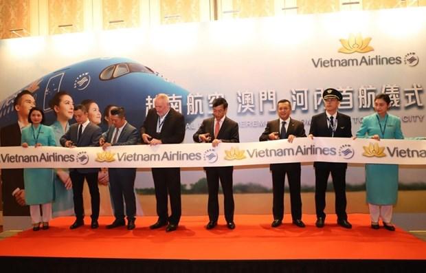 Vietnam Airlines: programme de promotion pour celebrer l'ouverture de la ligne Hanoi-Macau hinh anh 1