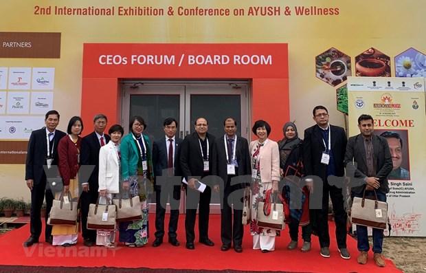 Vietnam-Inde: Intensification de la cooperation dans la medicine traditionnelle hinh anh 1