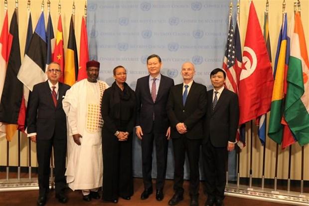 Le Vietnam entame sa presidence du Conseil de securite de l'ONU hinh anh 1