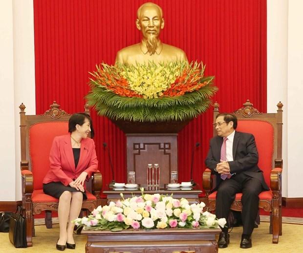 Le Vietnam tient en haute estime ses relations avec le Japon hinh anh 1