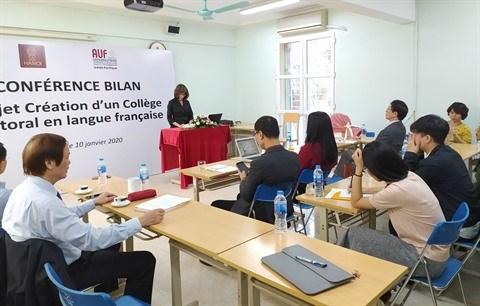 Universite de Hanoi : succes du projet du college doctoral en langue francaise hinh anh 1