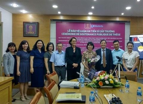 Universite de Hanoi : succes du projet du college doctoral en langue francaise hinh anh 2