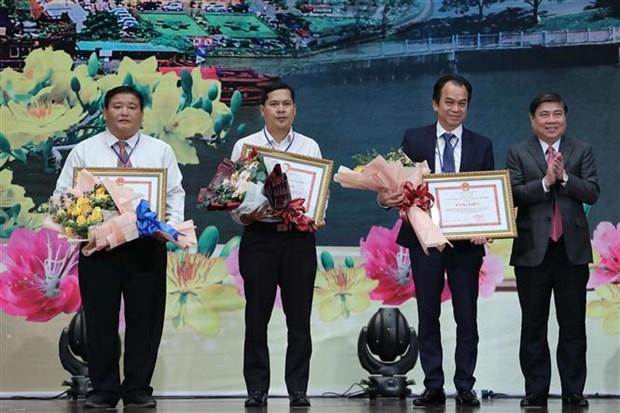 Ho Chi Minh-Ville salue les contributions des Viet kieu hinh anh 1