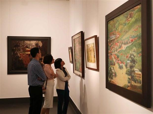 Ouverture de l'exposition «Le printemps eternel» a Hanoi hinh anh 1