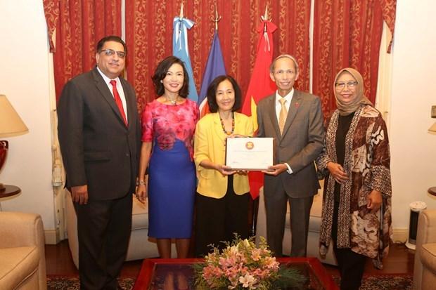 Le Vietnam assume la presidence tournante du Comite de l'ASEAN en Argentine hinh anh 1