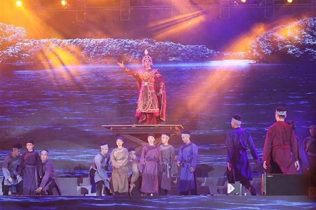 Ho Chi Minh-Ville: Un spectacle marquant le 231e anniversaire de la victoire de Ngoc Hoi-Dong Da hinh anh 1