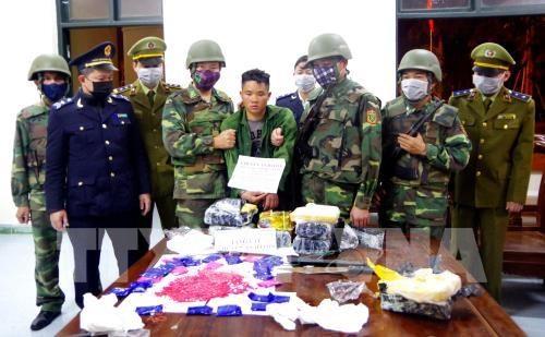 Un Laotien arrete pour trafic de stupefiants a Ha Tinh hinh anh 1