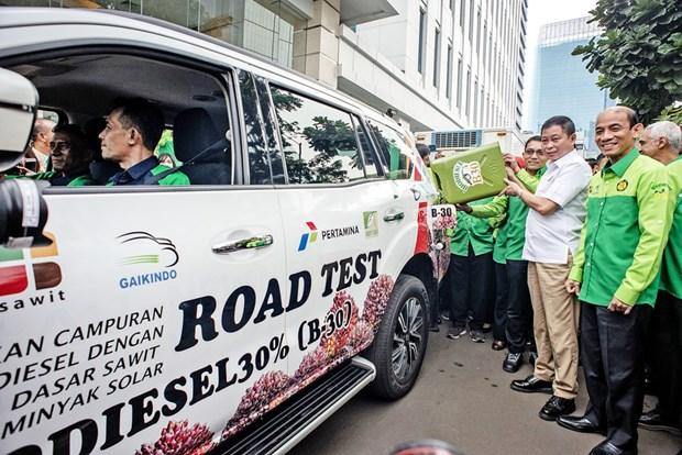 L'Indonesie commencera a utiliser a titre d'essai du biodiesel B40 en mars prochain hinh anh 1
