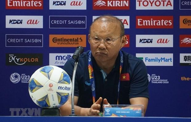 Football : l'entraineur-chef Park Hang-seo accepte une sanction infligee par l'AFC hinh anh 1
