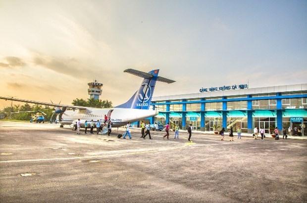 L'aeroport de Ca Mau vise a desservir un million de passagers par an hinh anh 1
