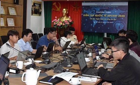 Cybersecurite : le Vietnam participe a l'exercice de l'APCERT hinh anh 1