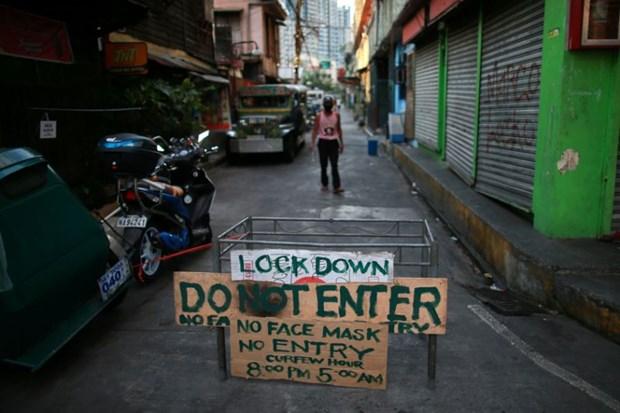 L'economie philippine pourrait se contracter en 2020 en raison de la pandemie de COVID-19 hinh anh 1