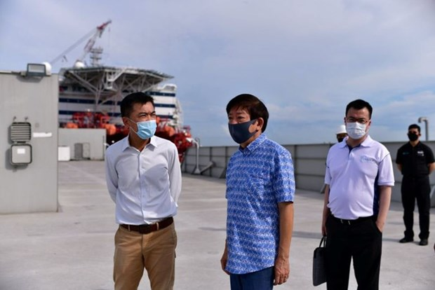 Singapour prepare des hotels flottants pour les travailleurs alors que le coronavirus se propage hinh anh 1