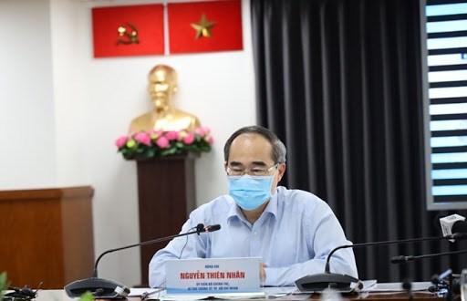 Ho Chi Minh-Ville continue a mobiliser des ressources pour controler l'epidemie de COVID-19 hinh anh 1