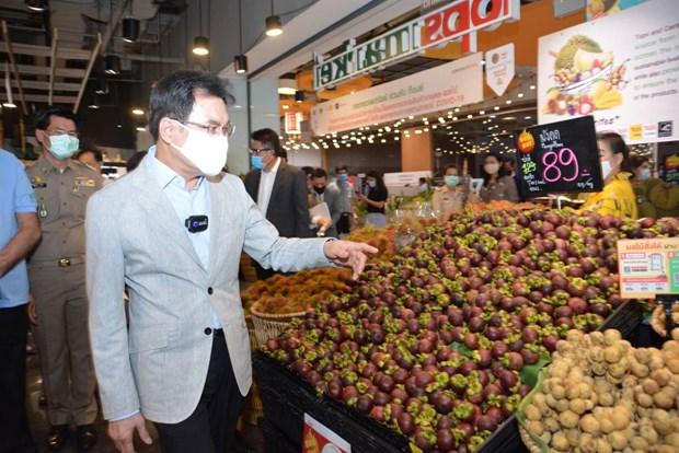 La Thailande promeut la vente de fruits sur le marche interieur hinh anh 1