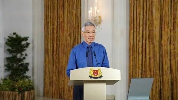 COVID-19: Singapour prolonge le confinement d'un mois hinh anh 1