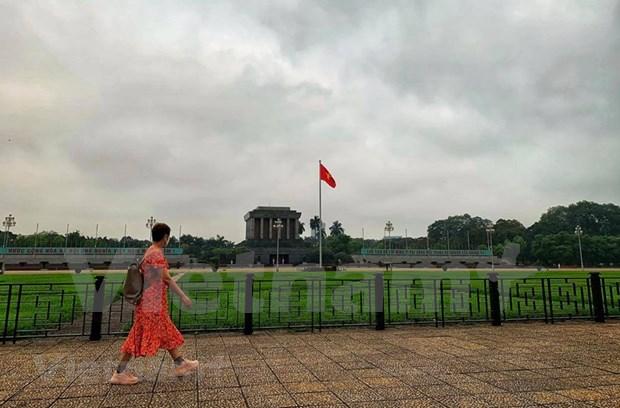 Le nombre de touristes a Hanoi pendant les jours feries en forte baisse hinh anh 1