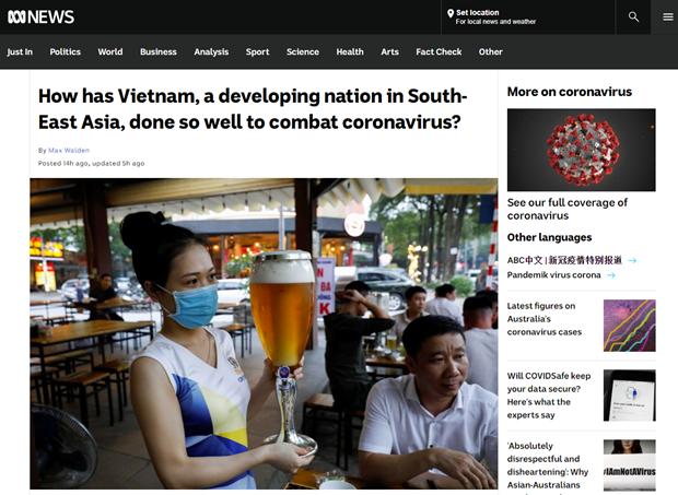 ABC News explique le succes du combat du Vietnam contre le COVID-19 hinh anh 1