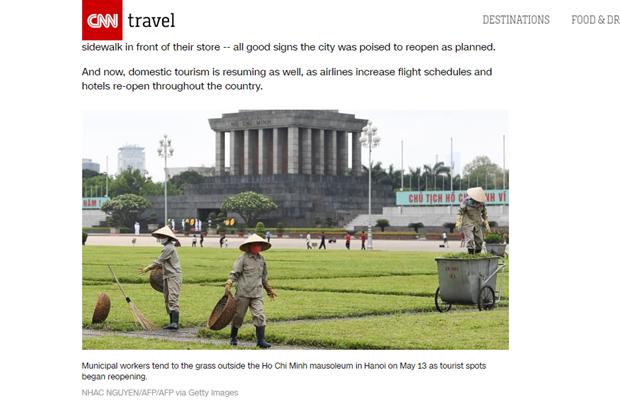 CNN : La vie au Vietnam revient progressivement a la normale hinh anh 1