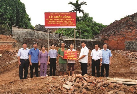 Hanoi devrait mobiliser 50 milliards de dongs en faveur des demunis hinh anh 1
