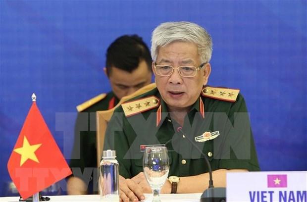 Le Vietnam et l'UE renforcent leur cooperation en matiere de defense hinh anh 1