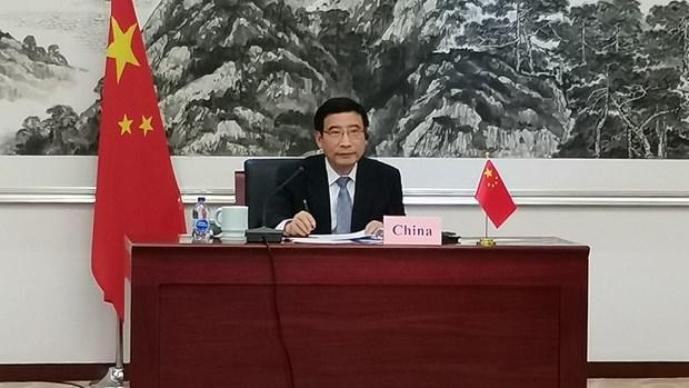 ASEAN et Chine renforcent leur cooperation en matiere d'economie numerique hinh anh 1