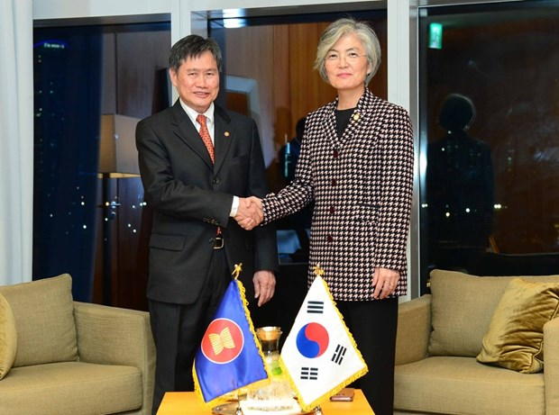 La Republique de Coree et l'ASEAN discutent de leur cooperation hinh anh 1